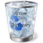 Корзина Active Directory в Windows Server 2012R2