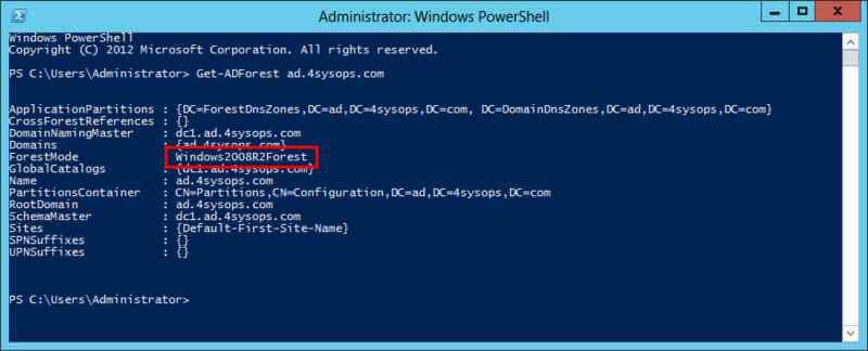 Что нового в корзине Active Directory в Windows Server 2012-04