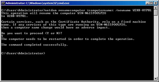 Как из командной строки настроить Hyper-V Server R2 Failover Cluster-1 часть-06