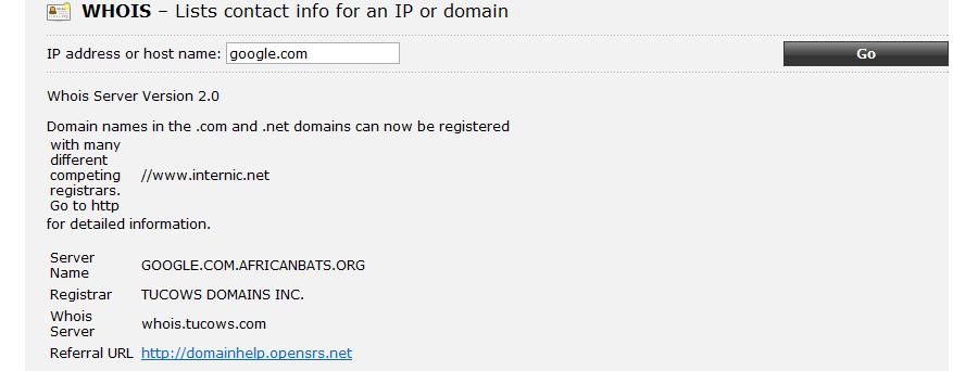Ping.eu. Внешние сетевые утилиты-4