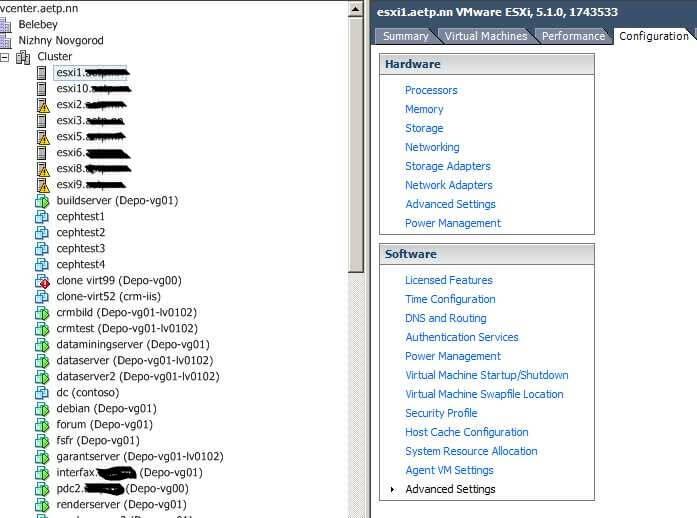 Установка и настройка VMware Syslog Collector для удаленного сбора логов ESXi 5.1