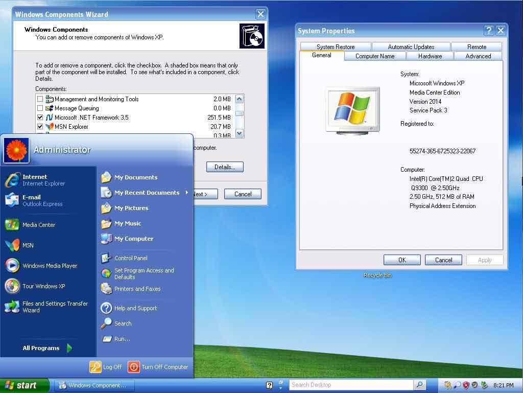 Windows XP получит неофициальный набор обновлений Service Pack 4