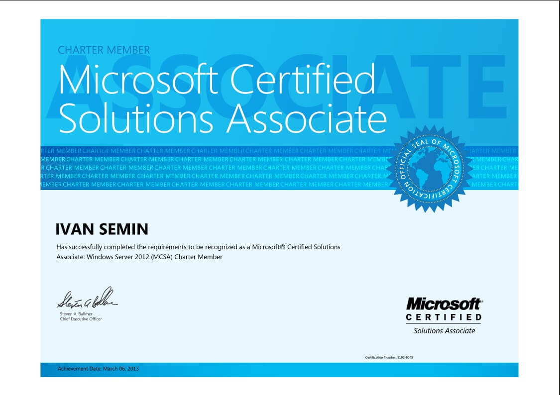 Сертификаты microsoft 70-417
