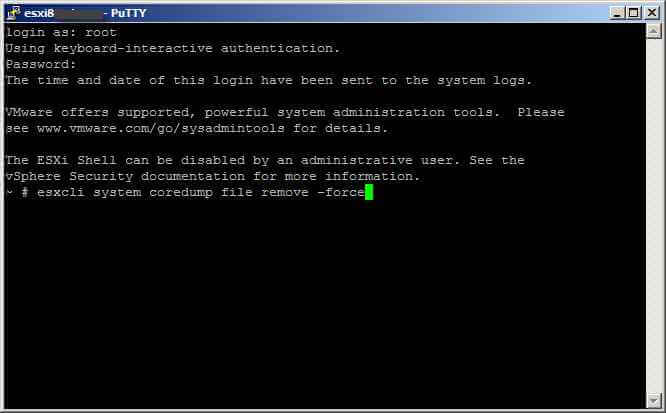 Cannot unmount volume Datastore Name because file system is busy. Correct the problem and retry the operation-10