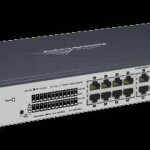 Как через web интерфейс настроить VLAN на коммутаторе HP 1800-24G (J9028B)