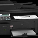 Как настроить принтер HP LaserJet M1217nfw MFP через WiFi