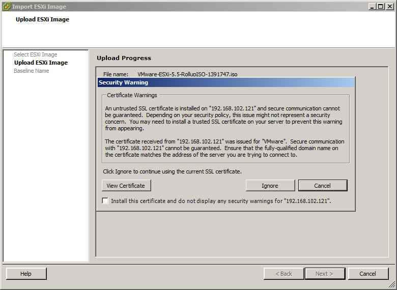 Как обновить ESXI с 5.1 до 5.5 — часть 1. Через Update Manager Server-03