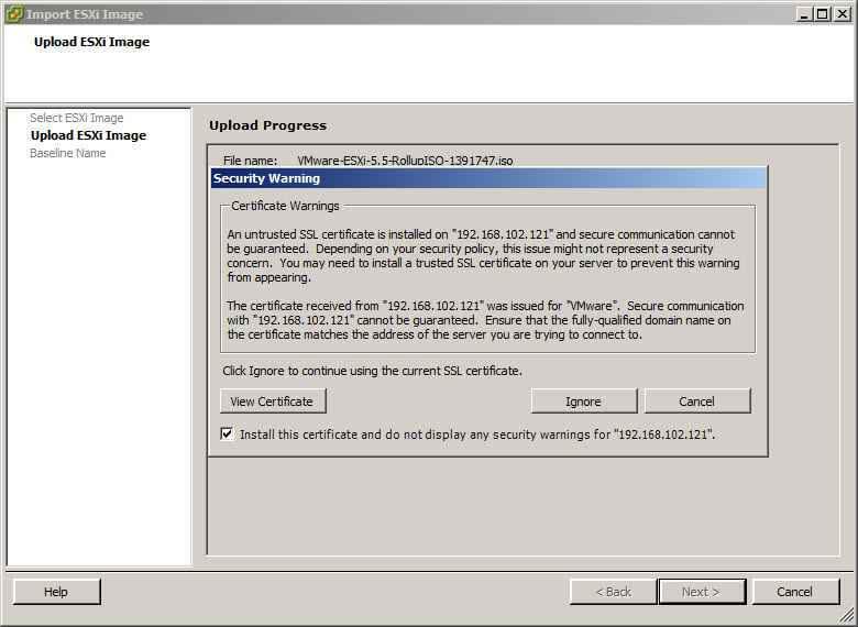 Как обновить ESXI с 5.1 до 5.5 — часть 1. Через Update Manager Server-04