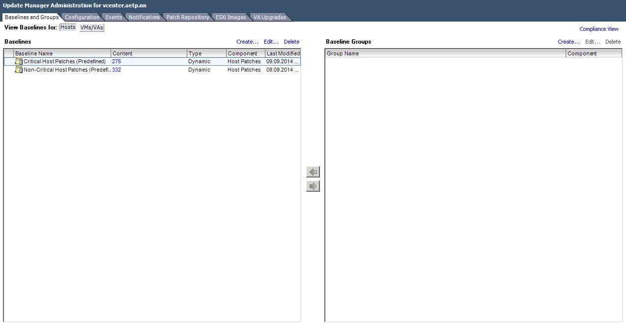 Как обновить ESXI с 5.1 до 5.5 — часть 1. Через Update Manager Server-06