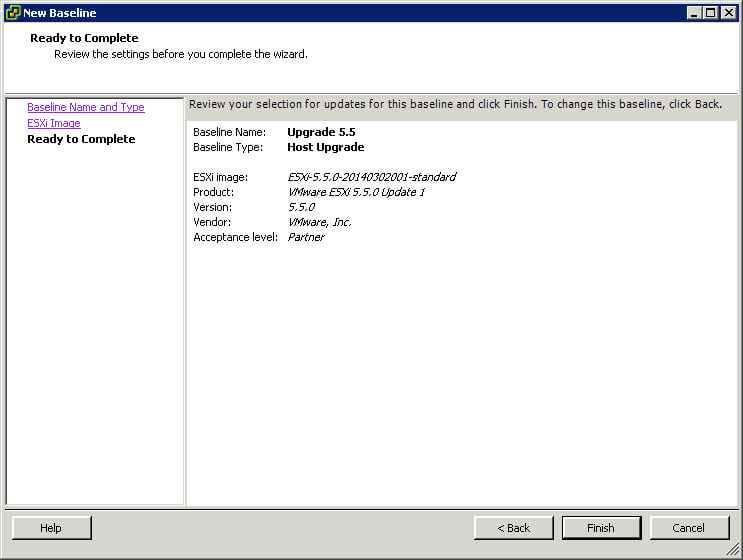 Как обновить ESXI с 5.1 до 5.5 — часть 1. Через Update Manager Server-11