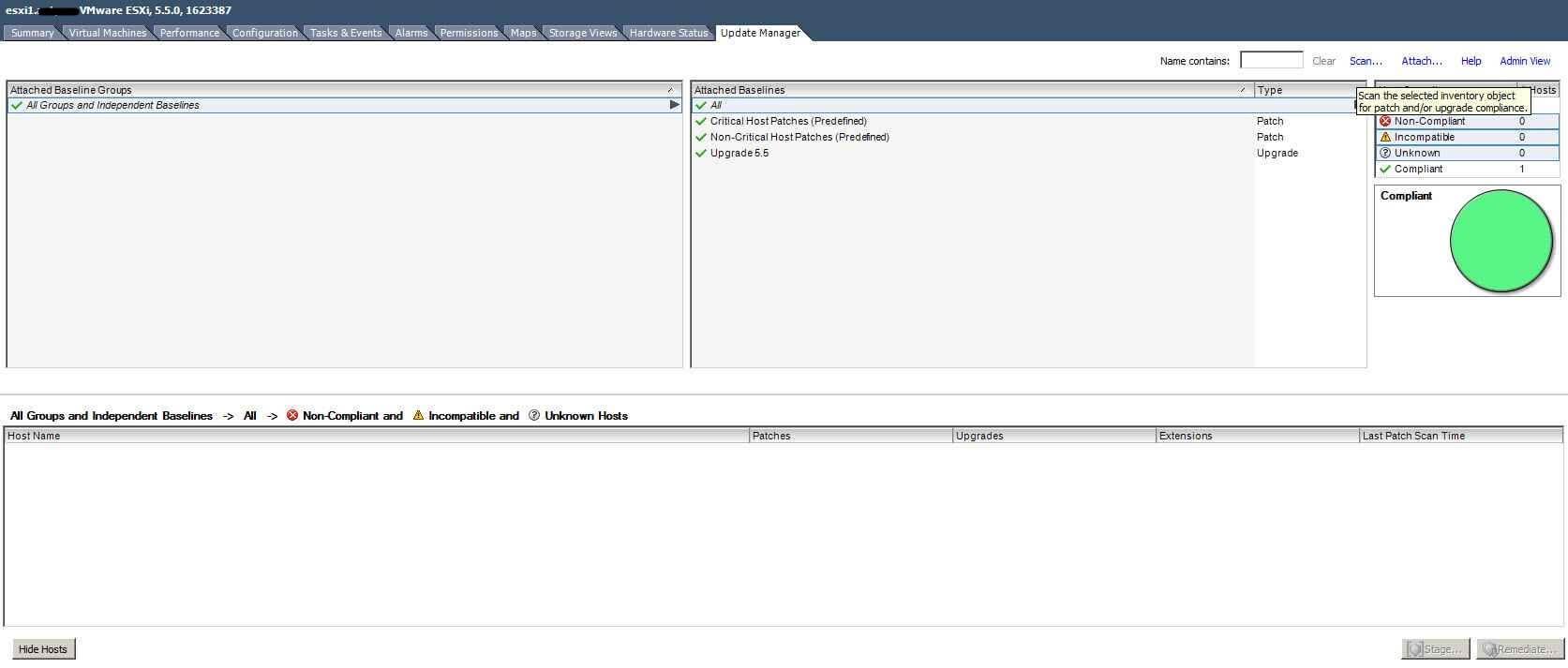 Как обновить ESXI с 5.1 до 5.5 — часть 1. Через Update Manager Server-27