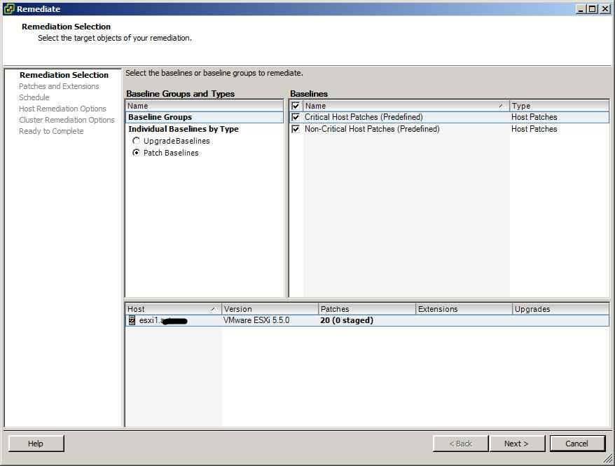 Как обновить ESXI с 5.1 до 5.5 — часть 1. Через Update Manager Server-30