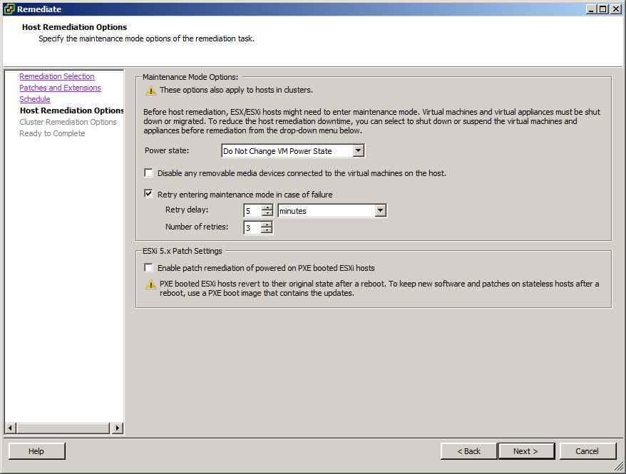 Как обновить ESXI с 5.1 до 5.5 — часть 1. Через Update Manager Server-33