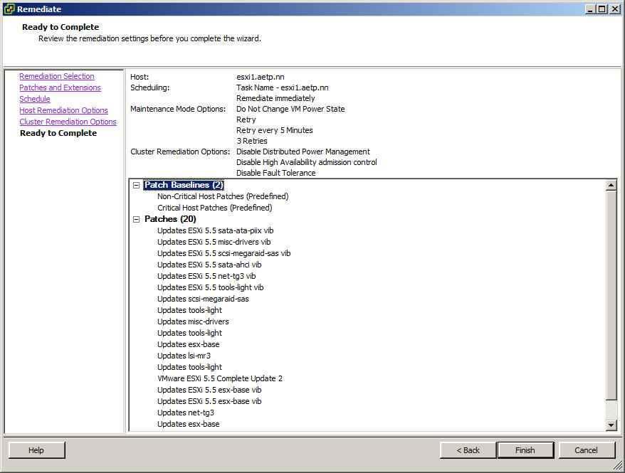 Как обновить ESXI с 5.1 до 5.5 — часть 1. Через Update Manager Server-35