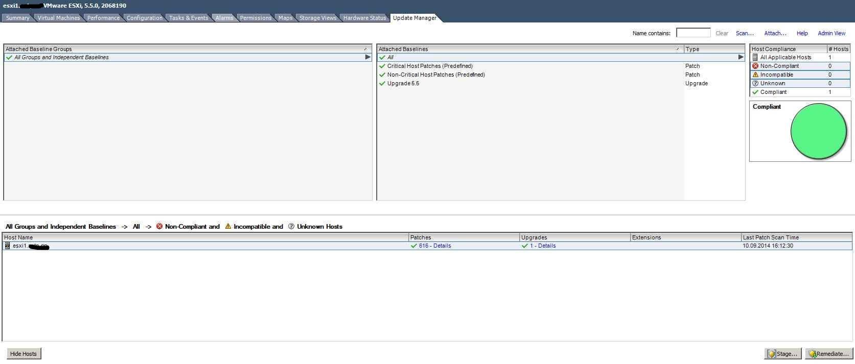 Как обновить ESXI с 5.1 до 5.5 — часть 1. Через Update Manager Server-36