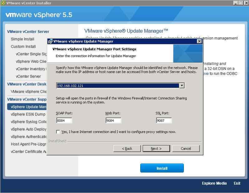 Как обновить Vcenter с 5.1 до 5.5 — часть 3. Обновляем Update Manager Server-11