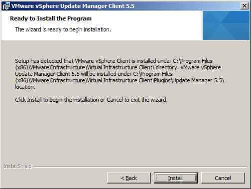 Как обновить Vcenter с 5.1 до 5.5 — часть 3. Обновляем Update Manager Server-23