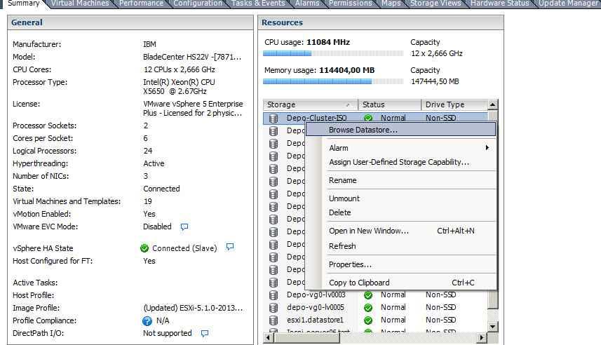 Как обновить Vcenter с 5.1 до 5.5-1 часть-01