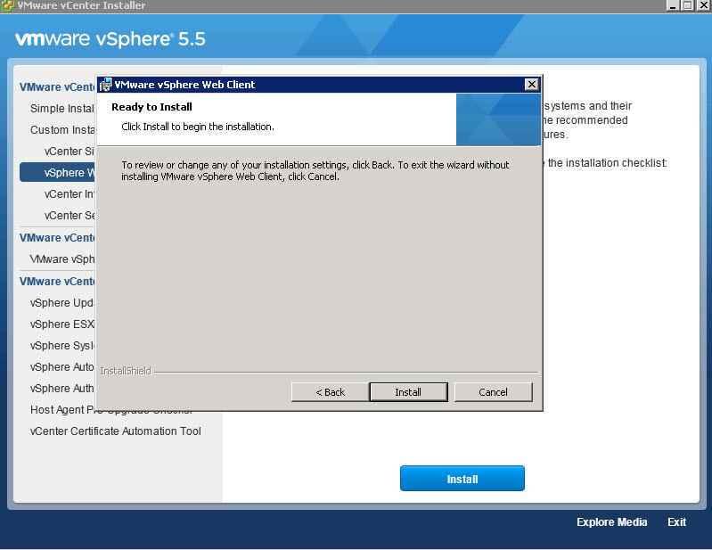 Как обновить Vcenter с 5.1 до 5.5-1 часть-28