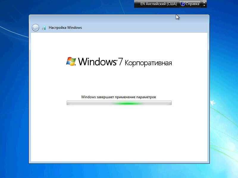 Как установить windows 7-17