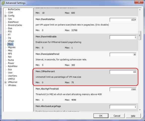 Когда включается Memory Ballooning в VMware vSphere-02