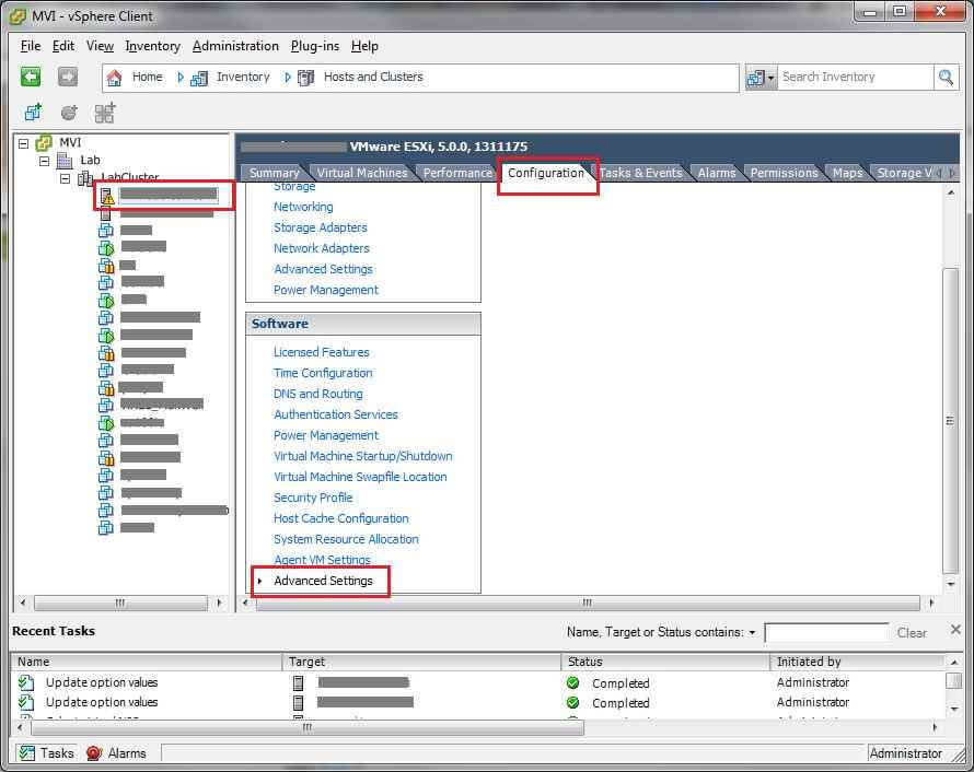 Отключаем сообщение SSH for the host has been enabled в ESXI 5.X.X-02
