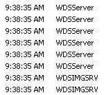 Поиск и устранение неисправностей WDS в windows server 2008R2-Event ID 257 — 258 — 266 — 513-01