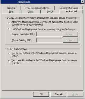 Поиск и устранение неисправностей WDS в windows server 2008R2-Event ID 257 - 258 - 266 - 513-012