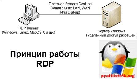 Принцип работы протокола rdp-1