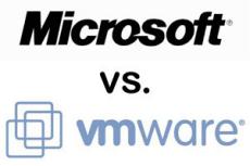 Сравнение VMware vSphere 5.5 Microsoft против Hyper-V 2012 R2