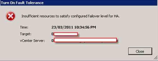 Установка и настройка VMware Fault Tolerance-05
