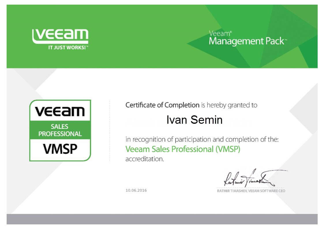 Veeam Sales Professional (VMSP)-2