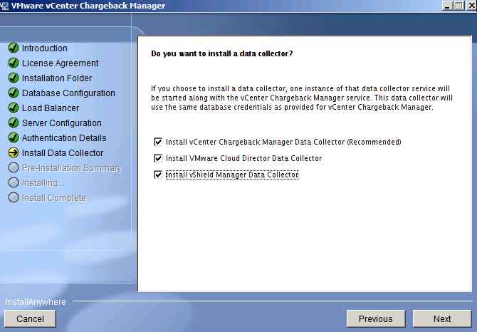 How to Install VMware vCenter Chargeback and Data Collectors- Step by Step eng version-19