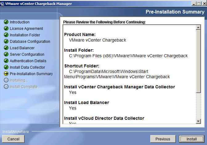 How to Install VMware vCenter Chargeback and Data Collectors- Step by Step eng version-21