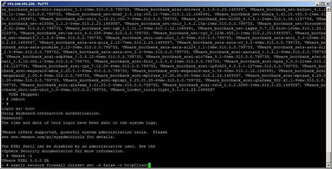 Как обновить ESXI 5.0 и 5.1 до версии ESXI 5.5 без Update Manager-18