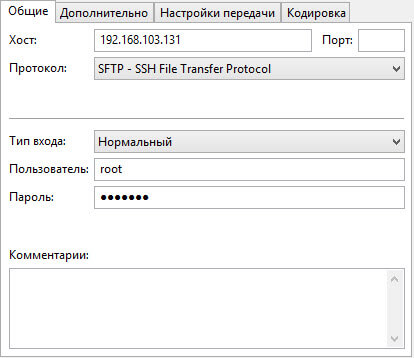 Как скопировать файл в в ESXI 5.5-02
