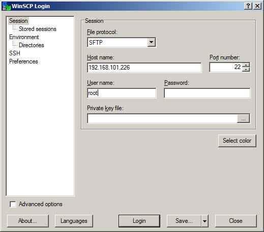 Как скопировать файл в в ESXI 5.x.x-07