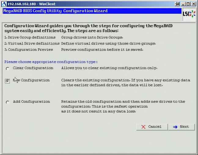 Как создать raid10, raid50, raid60, raid5 на контроллере LSI MegaRAID SAS PCI Express ROMB-03