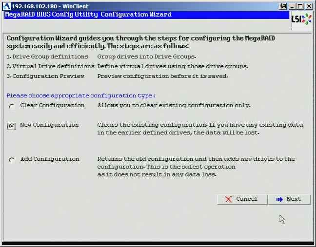Как создать raid10, raid50, raid60, raid5 на контроллере LSI MegaRAID SAS PCI Express ROMB-13