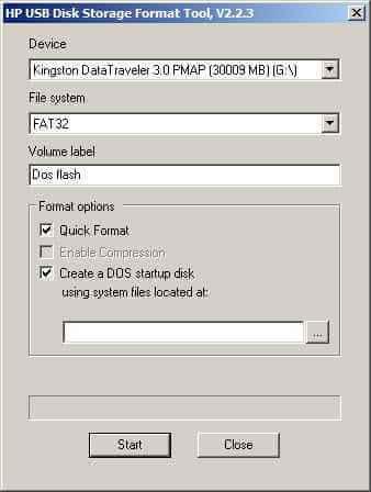 Как создать загрузочную флешку с DOS-01