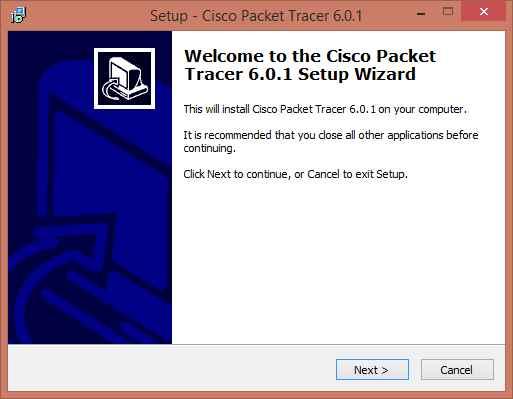Как установить Cisco Packet Tracer 6.0.1-01
