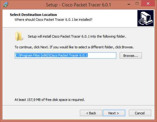 Как установить Cisco Packet Tracer 6.0.1-03