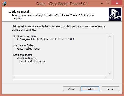 Как установить Cisco Packet Tracer 6.0.1-06