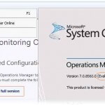 Как установить лицензионный ключ (Product License Key) в System Center Operations Manager 2012 R2