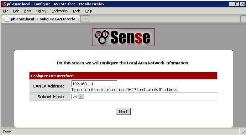 Как установить pfSense в качестве интернет шлюз-17