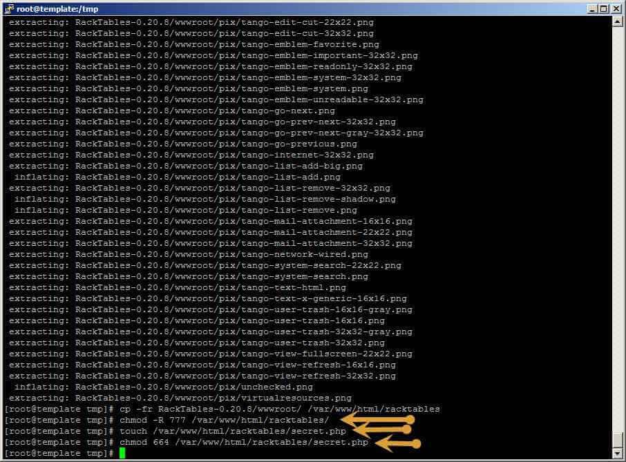 Как установить racktables на CentOS 6.5-29