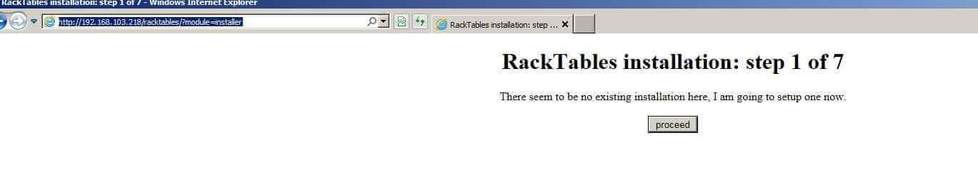 Как установить racktables на CentOS 6.5-30