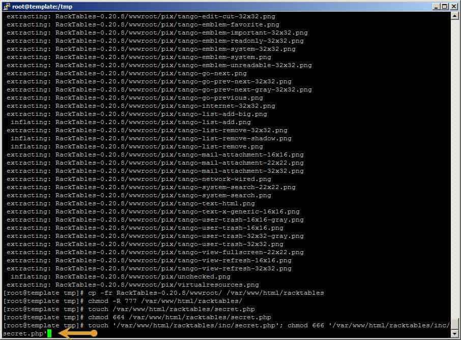 Как установить racktables на CentOS 6.5-33