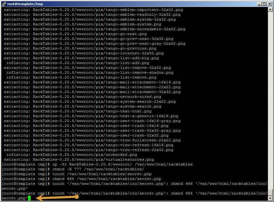 Как установить racktables на CentOS 6.5-37