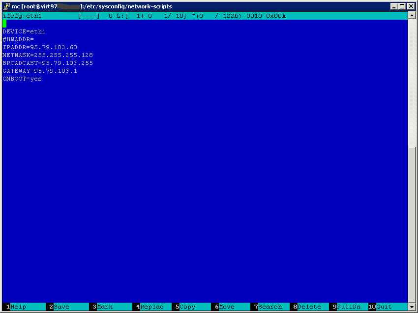 Как в CentOS 6-7 настроить статический ip адрес-02
